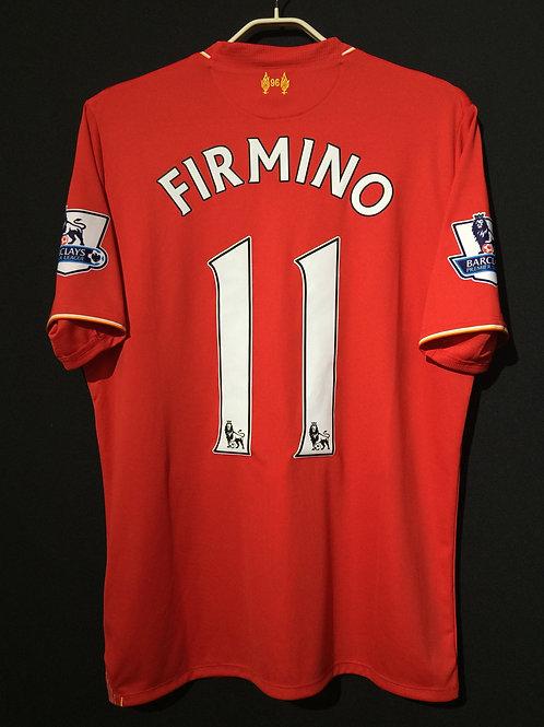 【2015/16】 / Liverpool / Home / No.11 FIRMINO