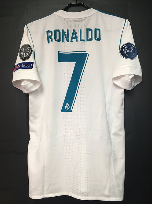 【2017/18】 / Real Madrid C.F. / Home / No.7 RONALDO / UCL / Authentic