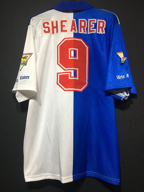 【1995/96】 / Blackburn Rovers / Home / No.9 SHEARER