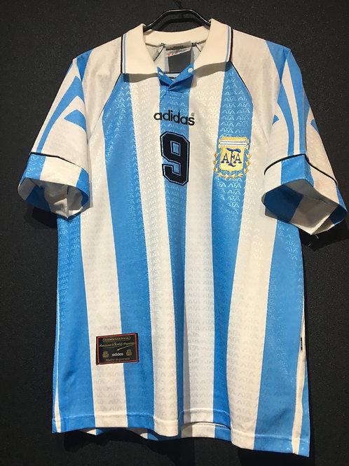 【1996/97】 / Argentina / Home / No.9 BATISTUTA