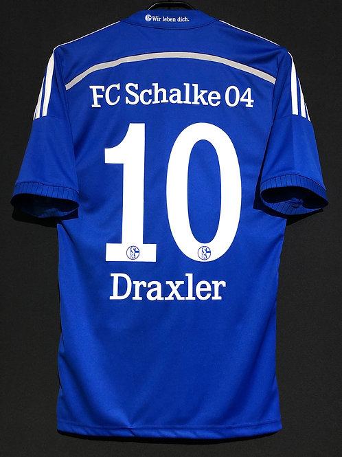 【2014/16】 / Schalke 04 / Home / No.10 DRAXLER