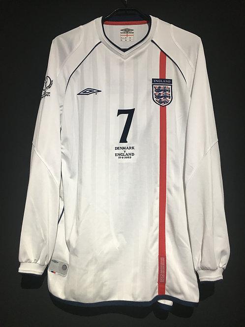 【2002】 / England / Home / No.7 BECKHAM / FIFA World Cup