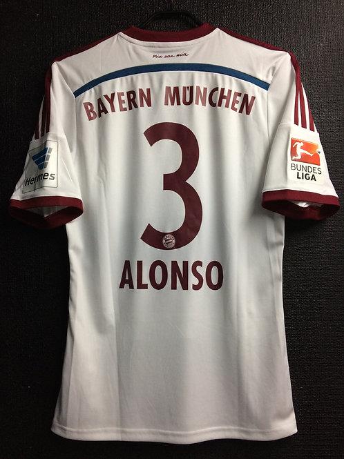 【2014/15】 / FC Bayern Munich / Away / No.3 ALONSO