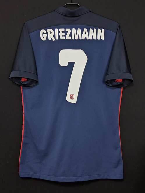 【2015/16】 / Atletico Madrid / Away / No.7 GRIEZMANN / Player Issue