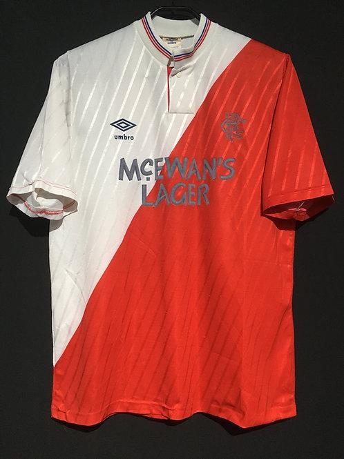 【1987/89】 / Rangers F.C. / Away