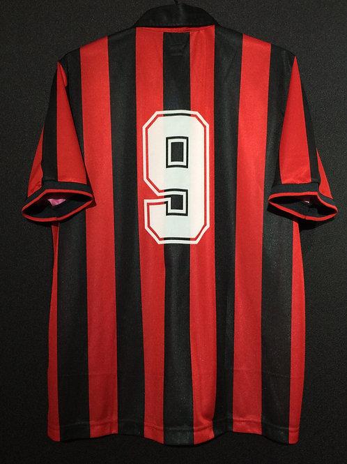 【1990/91】 / A.C. Milan / Home / No.9 / Reproduction