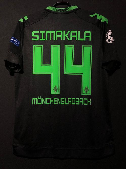 【2016/17】 / Borussia Mönchengladbach / 3rd / No.44 SIMAKALA / UCL