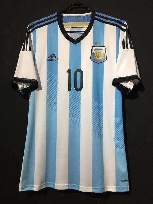 【2014】 / Argentina / Home / No.10 MESSI / Authentic