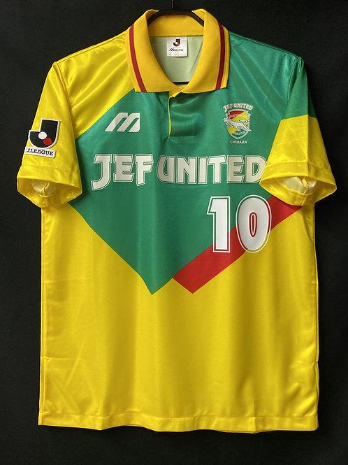 【1993/96】 / JEF United Chiba / Home / No.10