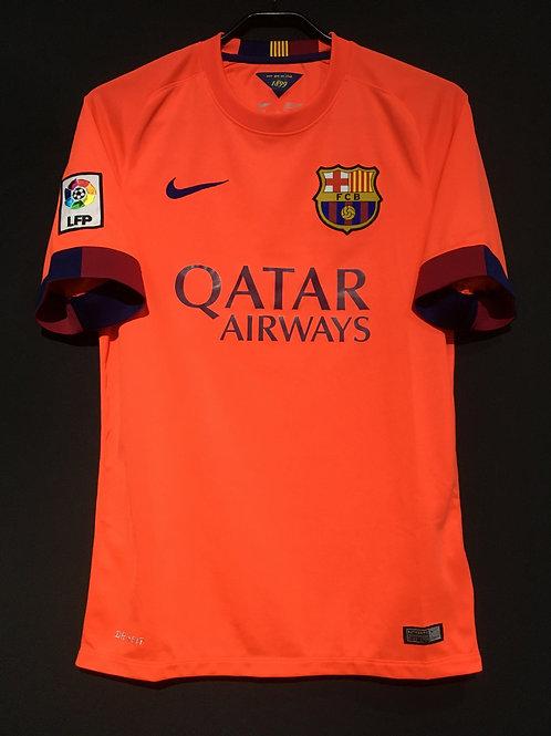 【2014/15】 / FC Barcelona / Away