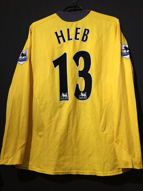 【2005/06】 / Arsenal / Away / No.13 HLEB