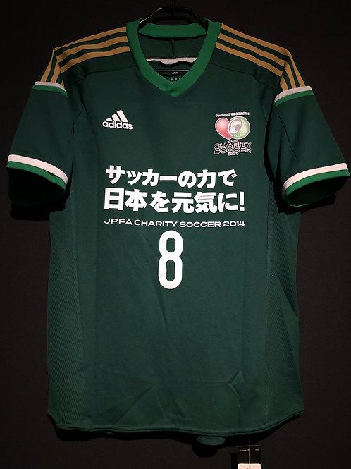 【2014】 / JPFA Charity Soccer / Japan Stars / No.8 KAKITANI