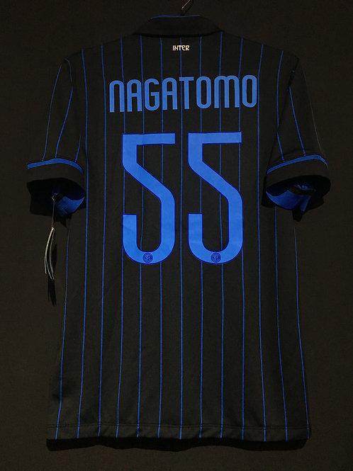 【2014/15】 / Inter Milan / Home / No.55 NAGATOMO