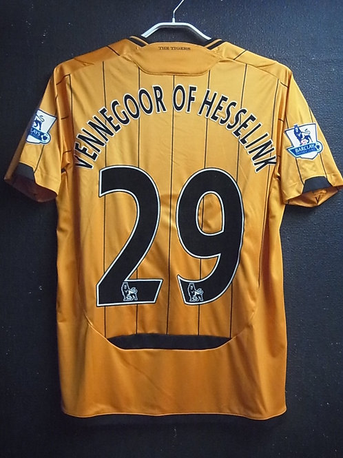 【2009/10】 / Hull City A.F.C. / Home / No.29 VENNEGOOR OF HESSELINK