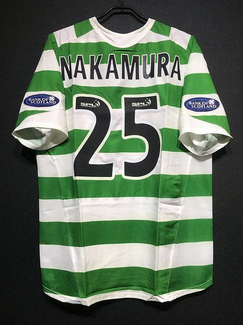【2005/06】 / Celtic F.C. / Home / No.25 NAKAMURA