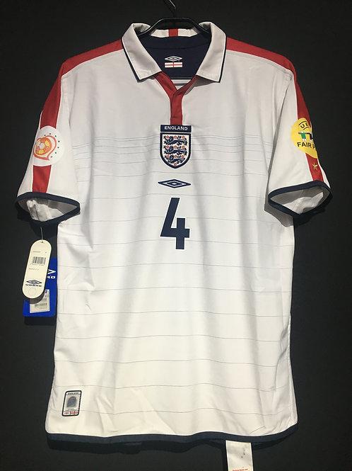 【2004】 / England / Home / No.4 GERRARD / UEFA European Championship