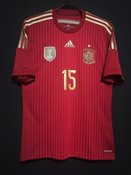 【2014】 / Spain / Home / No.15 RAMOS