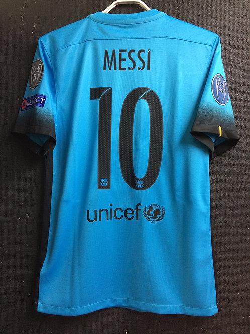 【2015/16】 / FC Barcelona / 3rd / No.10 MESSI / UCL