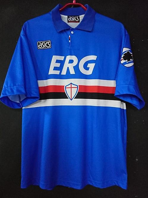 【1992/93】 / U.C. Sampdoria / Home / No.4
