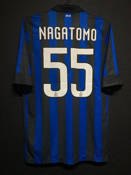 【2011/12】 / Inter Milan / Home / No.10 NAGATOMO
