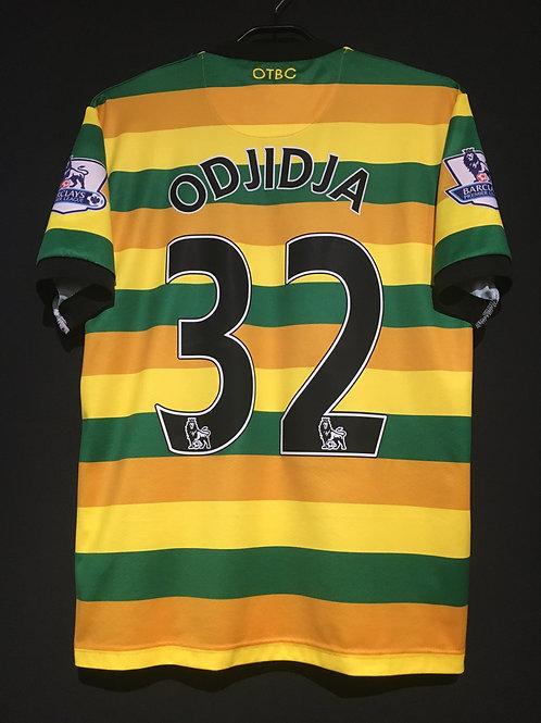 【2015/16】 / Norwich City F.C. / 3rd / No.32 ODJIDJA