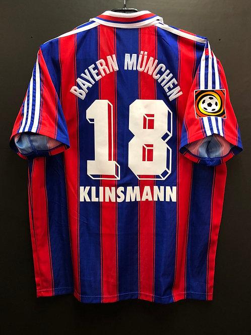 【1995/97】 / FC Bayern Munich / Home / No.18 KLINSMANN