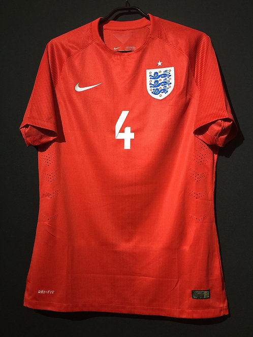 【2014/15】 / England / Away / No.4 GERRARD / Player Issue