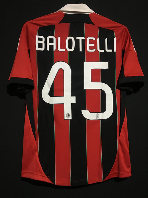 【2012/13】 / A.C. Milan / Home / No.45 BALOTELLI