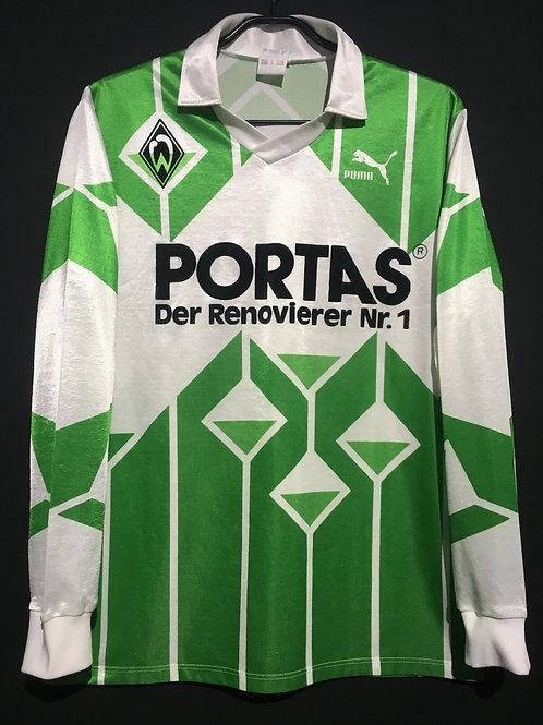 【1991/92】 / Werder Bremen / Away