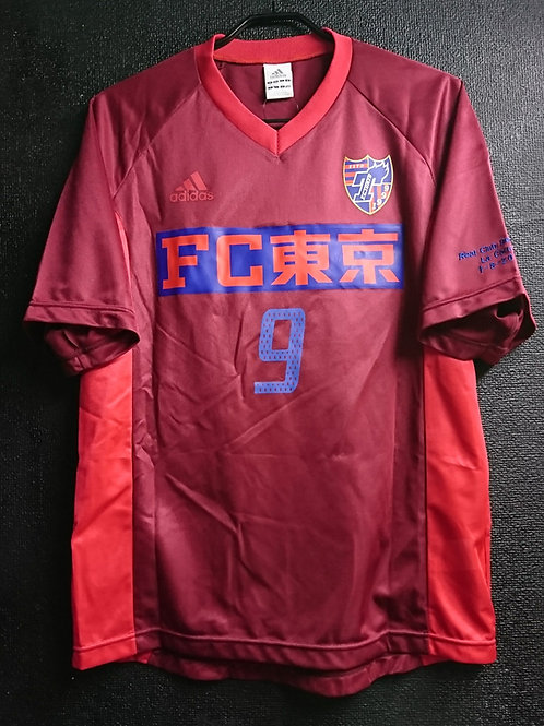 【2004】 / FC Tokyo / Training Match / No.9 LUCAS / vs Deportivo La Coruna