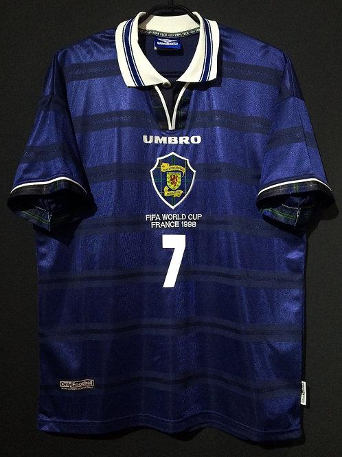 【1998】 / Scotland / Home / No.7 GALLACHER / FIFA World Cup