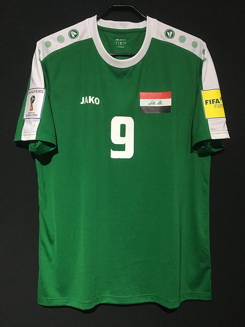 【2016/17】 / Iraq / Home / No.9 / FIFA World Cup 2018 Qualifiers