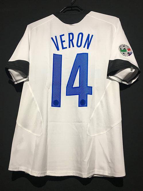 【2005/06】 / Inter Milan / Away / No.14 VERON