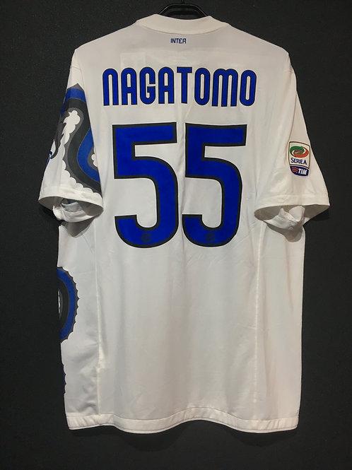 【2010/11】 / Inter Milan / Away  / No.55 NAGATOMO