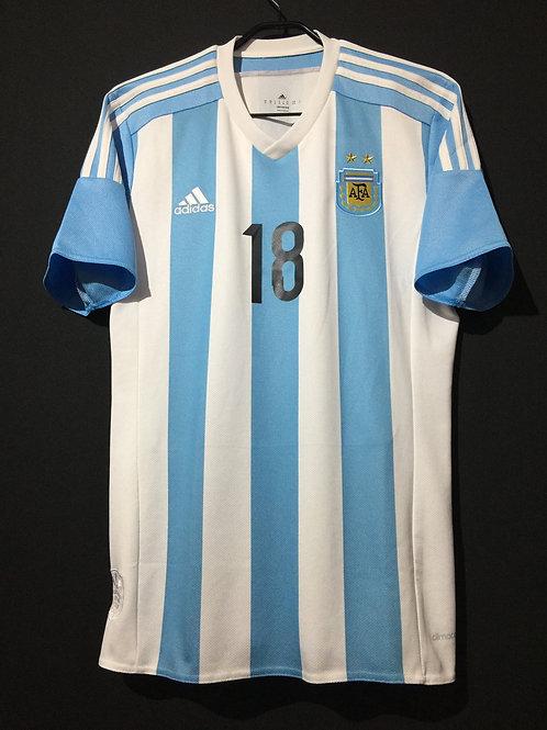 【2015】 / Argentina / Home / No.18 TEVEZ