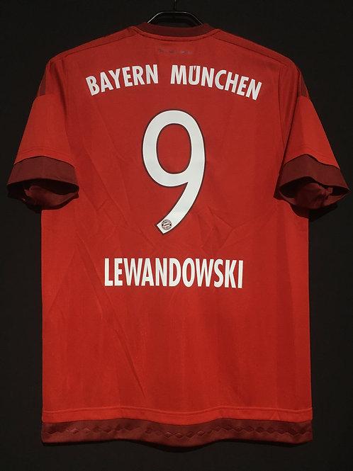 【2015/16】 / FC Bayern Munich / Home / No.9 LEWANDOWSKI