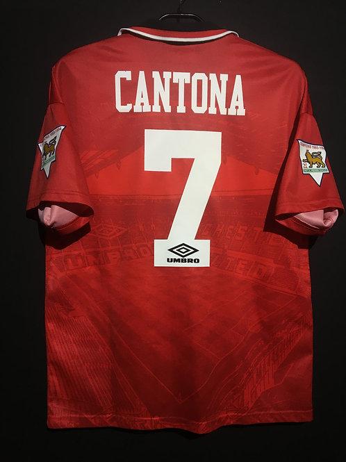 【1994/95】 / Manchester United / Home / No.7 CANTONA