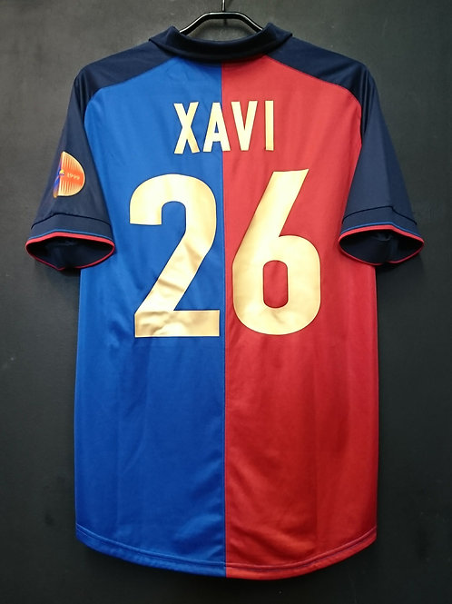【1999/2000】 / FC Barcelona / 100th Anniv. / No.26 XAVI / Reproduction ver.2