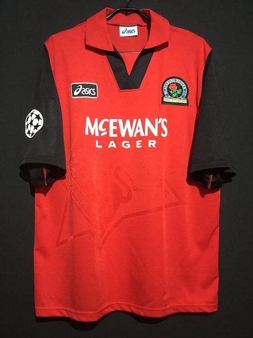 【1995/96】 / Blackburn Rovers / Away / No.9 / UCL