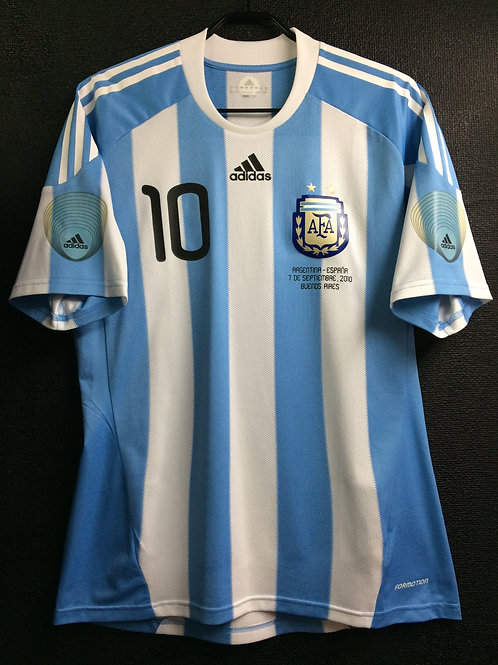 【2010】 / Argentina / Home / No.10 MESSI / Friendly Match vs Spain / Player Issue