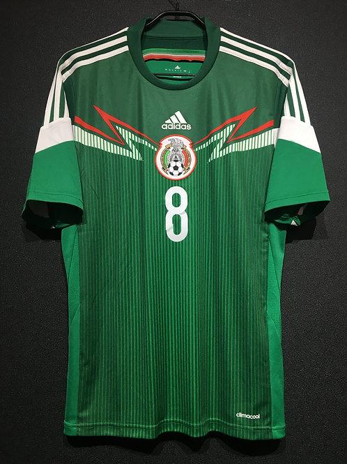 【2014】 / MEXICO / Home / No.8 J. DOS SANTOS