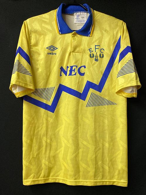 【1990/92】 / Everton / Away