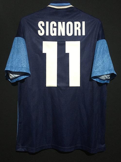 【1995/96】 / S.S. Lazio / Away / No.11 SIGNORI
