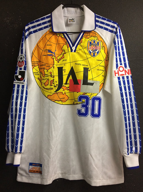 【1998】 / Shimizu S-Pulse / Away / No.30 / Player Issue