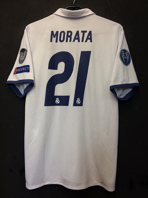 【2016/17】 / Real Madrid C.F. / Home / No.21 MORATA / UCL