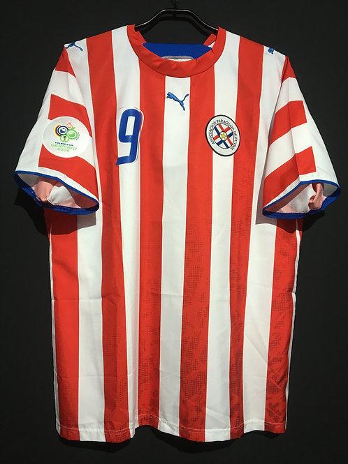 【2006】 / Paraguay / Home / No.9 SANTA CRUZ / FIFA World Cup