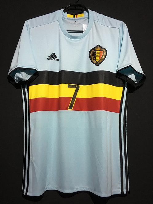 【2016/17】 / Belgium / Away / No.7 DE BRUYNE