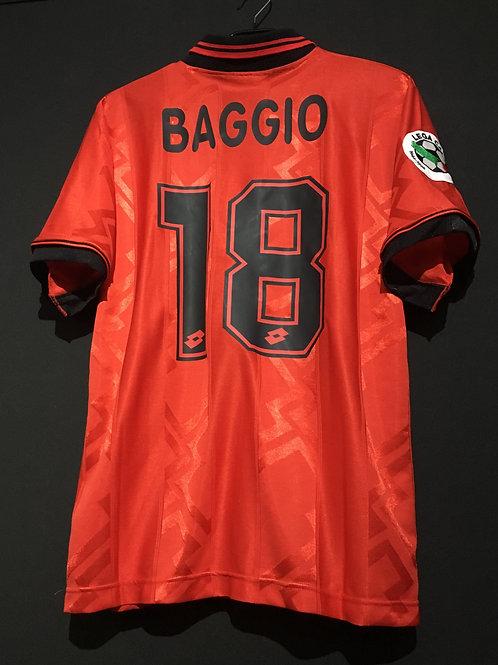 【1996/97】 / A.C. Milan / 4th / No.18 BAGGIO