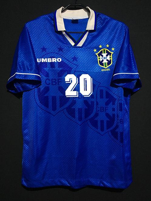 【1995/96】 / Brazil / Away / No.20 RONALDO / ver.2