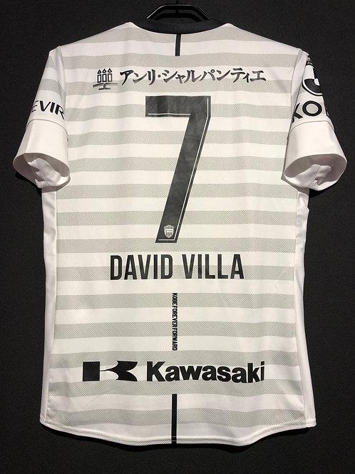 【2019】 / Vissel Kobe / Away / No.7 DAVID VILLA